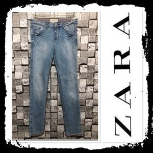 NWOT Zara Ankle Length Skinny Jeans